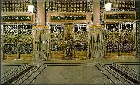 Resting place of prohpet Mohammed (pbuh)